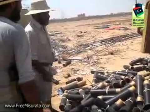 FIGHTING Libya- Zliten - Exclusive