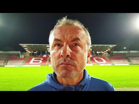Trenér Frťala hodnotí zápas v Brně