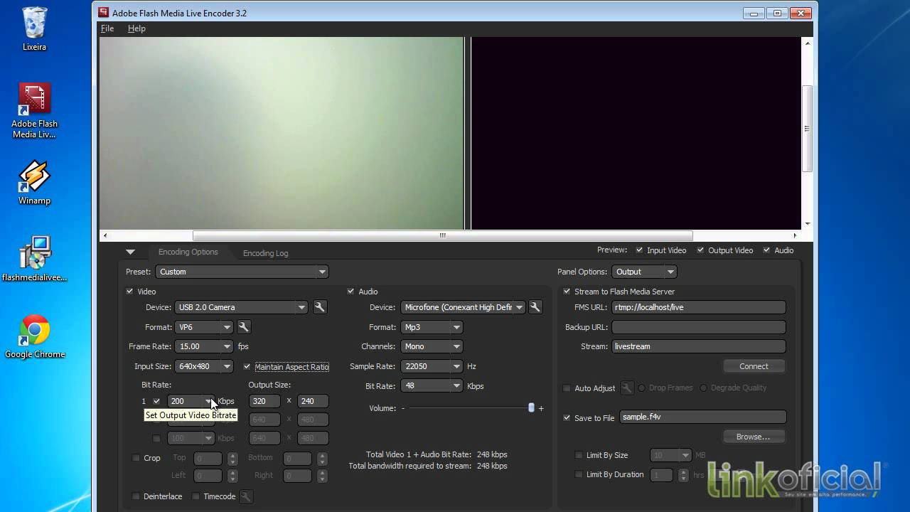 Configurar e Transmitir Ao Vivo sua Web TV - YouTube