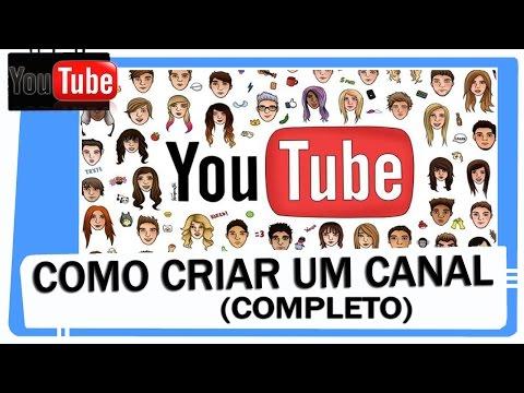 COMO CRIAR UM CANAL NO YOUTUBE ( CURSO COMPLETO) ATUALIZADISSIMO thumbnail