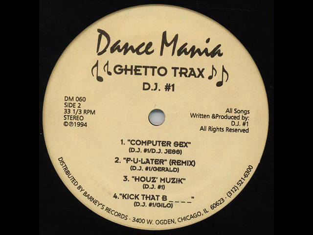 "DJ FUNK ""F-U-Later"" (Remix) DANCE MANIA 060 1994"