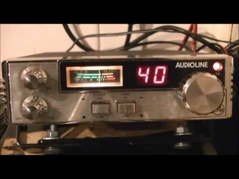 5 tone Roger Beep-Audioline 340 CB radio