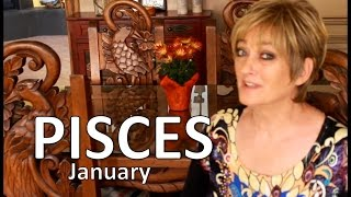 PISCES January 2017 ASTROLOGY - HOROSCOPE - Awesome Start of Your Year!