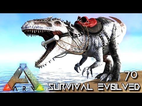 ARK: SURVIVAL EVOLVED - ALPHA GIGANOTOSAURUS TAME GIGA !!! E70 (MODDED ARK EXTINCTION CORE)
