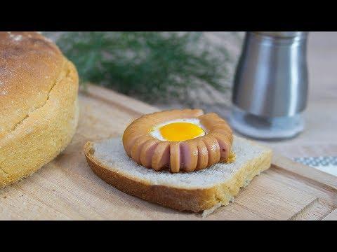 Słoneczna Parówka - Jajko Sadzone W Parówce