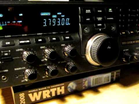 NRD-535DG receiving Ham Radio on 80 m Shortwave