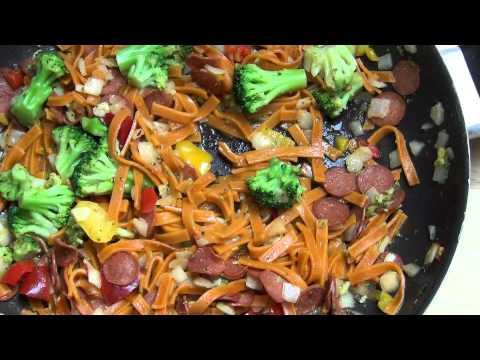 Chili Tagliatelle Chorizo Und Gemüse Von Trattoria Alfredo Aus Dem LIDL