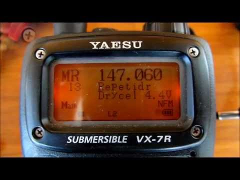 2MIN - Yaesu VX-7: How to transmit at full 5W with AA batteries