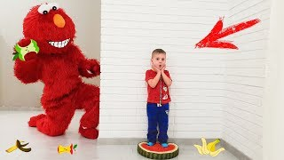 Funny toys fruits video Play with Cleaning Toys