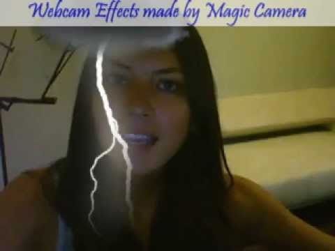 Lightning Webcam Effects With Magic Camera Software