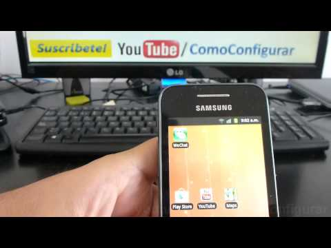 gt s5830 Samsung Galaxy Ace características español Video Full HD