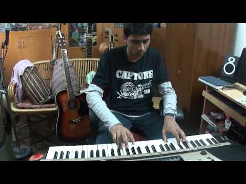 S.Akilesh Playing Classical Song; Alaipayuthey in Piano style...