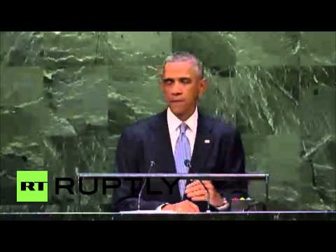 USA: 'Bigger nations shouldn't bully smaller ones' - Obama at UNGA