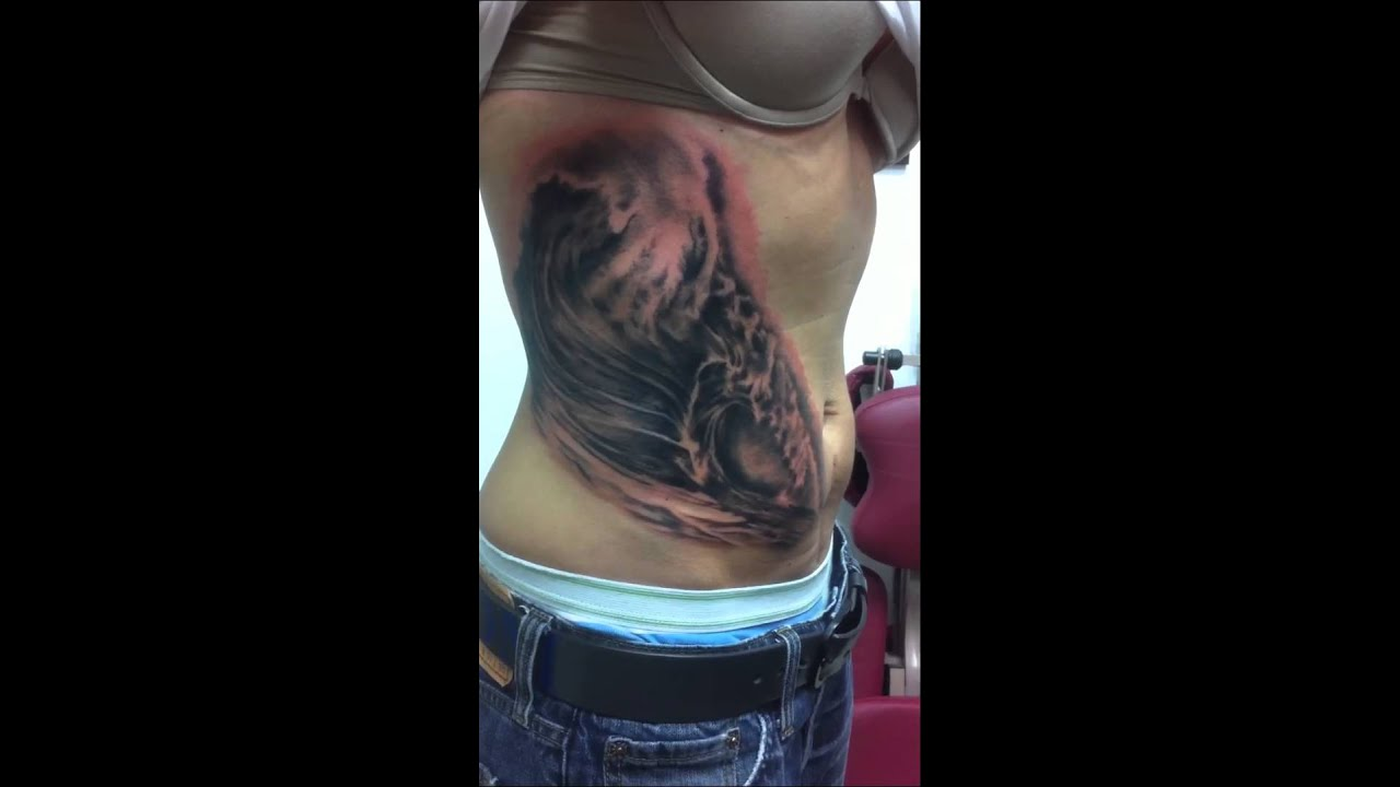 Ocean Wave Tattoo