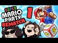 Super Mario Party - The REMATCH: We're The Baddies - PART 1 - Game Grumps VS