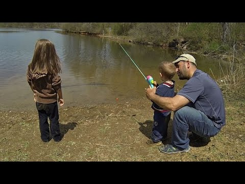 KIDS FISHING - A FEW TIPS & TRICKS!