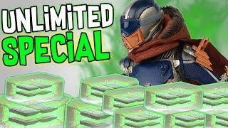 Destiny: UNLIMITED SPECIAL AMMO GLITCH IN CRUCIBLE!