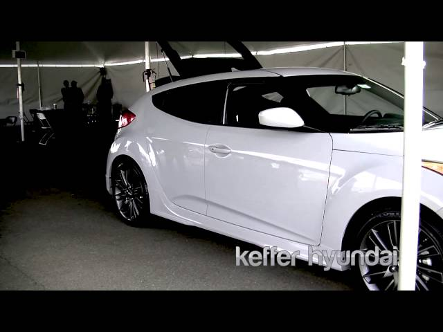 2013 Hyundai Veloster REMIX Edition: Keffer Hyundai: JL Audio
