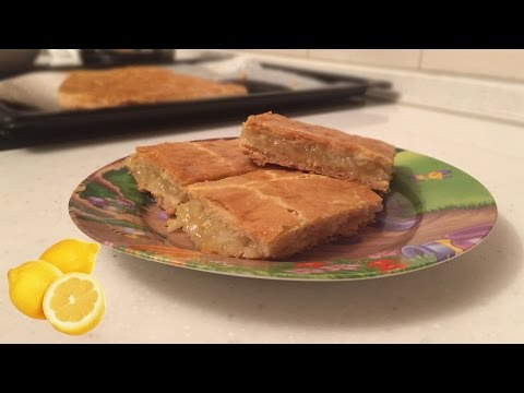 Быстрый и вкусный лимонный пирог!