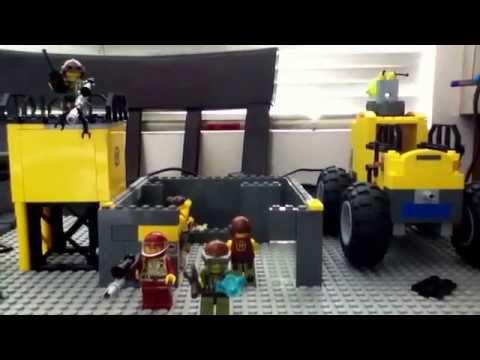 The lego bank heist