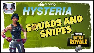 Hysteria | Fortnite Battle Royale - Squads and Snipes - With Roxy and Pistola