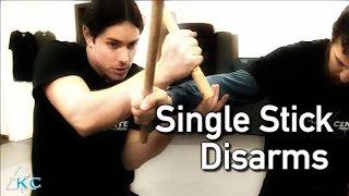 Download KALI SINGLE STICK DISARMS - How to use Arnis Sticks + Escrima Stick Techniques - 3Gp Mp4