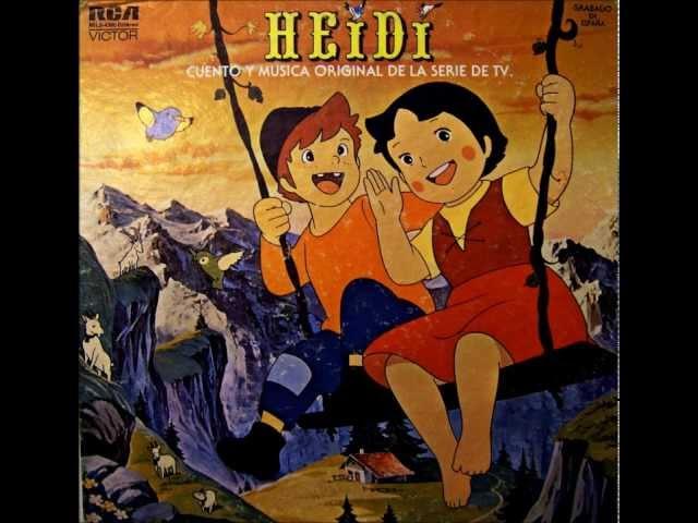 Heidi - Las Canciones (Lado 2 Completo)