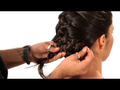 How to Turn a Braid into an Updo | Salon Hair Tutorial