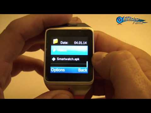 Review of the Smartwatch LX36 Clone Galaxy Gear 2: Test and Specifications - ElectroFame