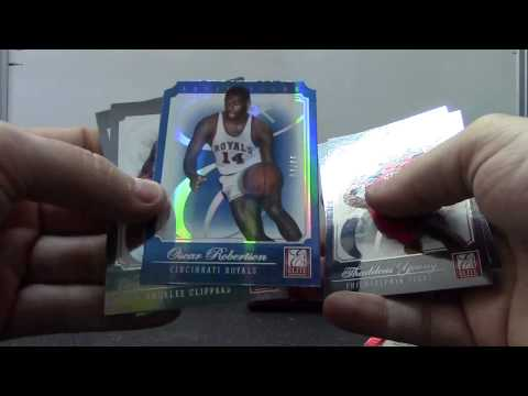 Nick's 2013 Leaf Metal & Elite Basketball 2 Hobby Box Break