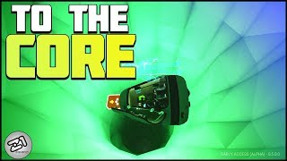 Going to the CORE! Astroneer Research Update Gameplay | Z1 Gaming