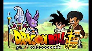 DRAGON BALL SUPER - [ EPISÓDIO 1 ] - SPRITE ANIMATION