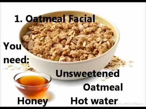 Homemade Acne Treatment - Check Oatmeal Facial Natural Acne Remedy!