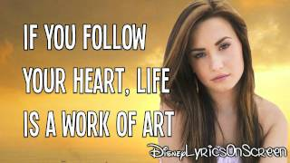 Watch Demi Lovato Work Of Art video