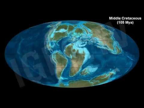Eras geológicas: precámbrica, paleozoica, mesozoica y cenozoica