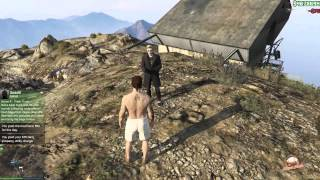 I Met With 2 Hackers On GTA 5 Online And They Gave Me Money