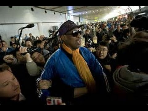 Dennis Rodman, retired NBA star,checks into rehab center