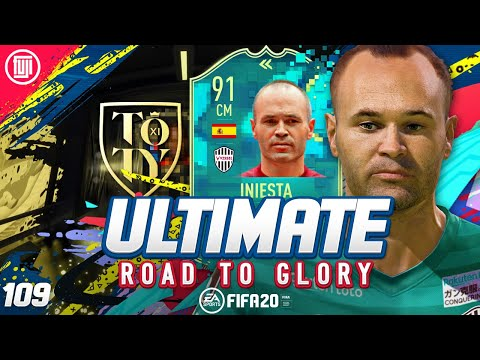 GET READY FOR TOTY!!! ULTIMATE RTG #109 - FIFA 20 Ultimate Team Road to Glory