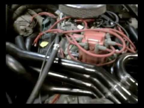 350 V8 With 180 Degree Headers And Dr Gas Freqmod