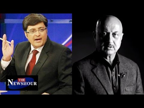 Anupam Kher Punished  For Pro-Pandit Video? | The Newshour Direct & Debate (2nd Feb 2016)
