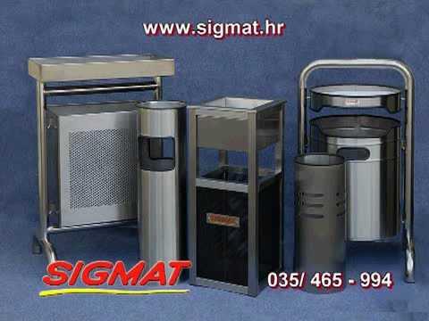 SIGMAT  ograde inox koševi prokrom HACCP  HTV 1 2010.wmv