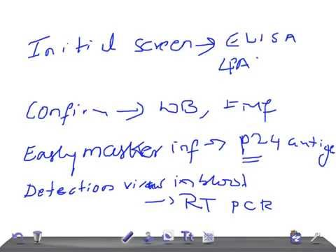 Medical Video Lecture: Lab Analysis for HIV/ AIDS (what test to do ?)
