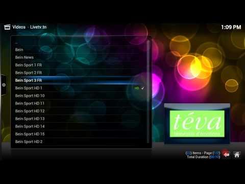 Livetv.tn Demo Channels ( XBMC & KODI )