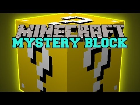 Minecraft: MYSTERY BLOCK (GOOD OR EVIL? BLOCK OF REWARDING DEATH) Mod Showcase