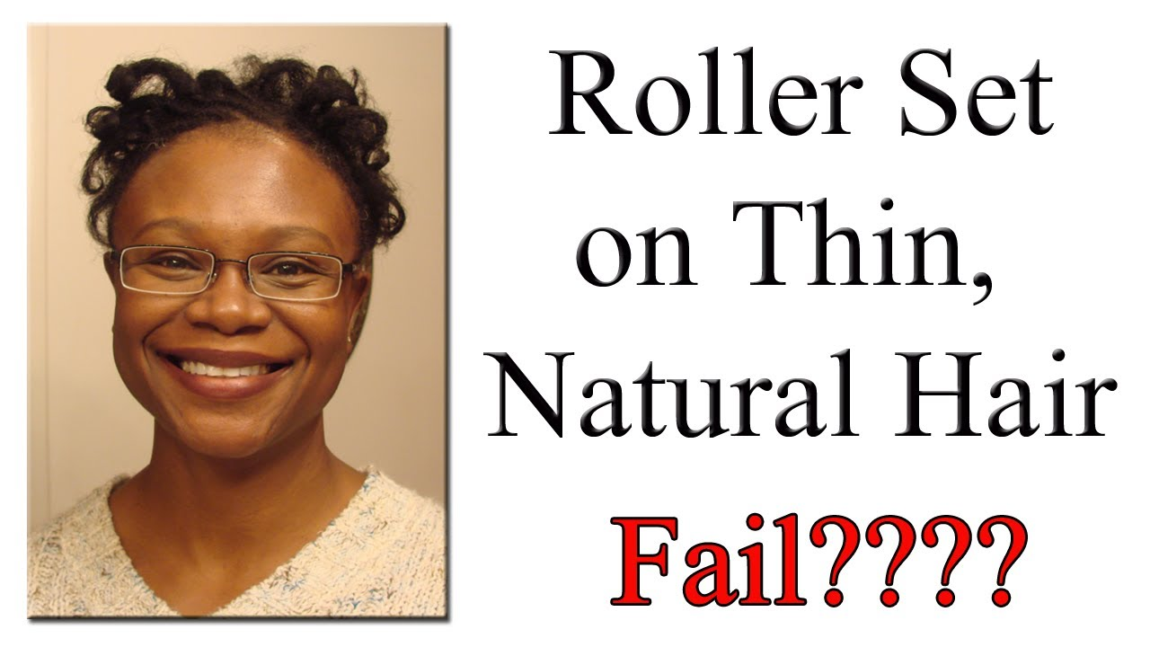 Hot Rollers Natural Black Hair