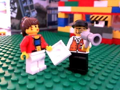 Brick film: Lego Movie Studios Introduction