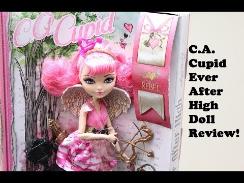 Ever After High - C.A. Cupid Doll - Opening/Review!