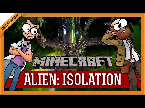 Minecraft Alien: Isolation #1: Тук-тук. Кто там? (прохождение Crafter's Isolation)