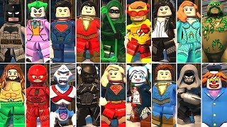 All DLC Characters in LEGO DC Super-Villains
