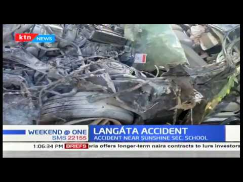 One person dead in Langata road accident